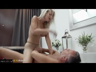 Keiran Lee & Nataly Cherry [ Blondes &  Massage &  Cancer &  In stockings / Cunnilingus, Ass, In oil, Pose 69, Cumshot in mo
