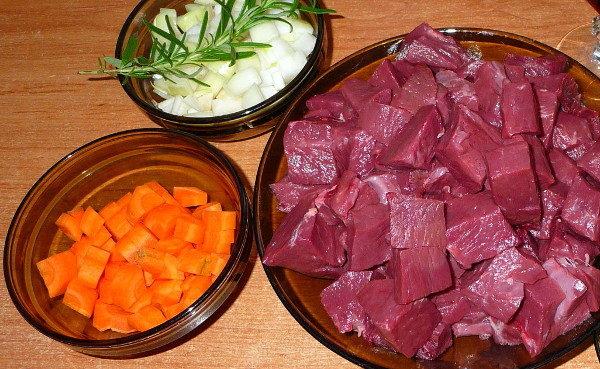 Тушеное говяжье сердце с овощами, изображение №2