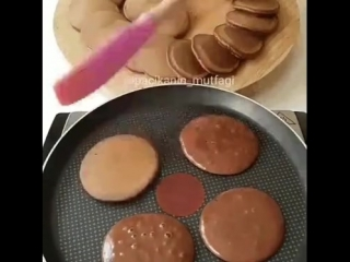 Панкейки с кремом, что может быть вкуснее