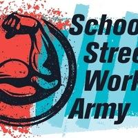 Логотип Воркаут в Ярославле [SSWA] - школа воркаута