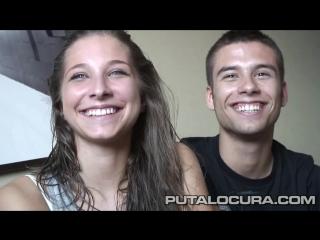 Молодая пара решила попробовать себя в порно_cristina_diego_putalocura