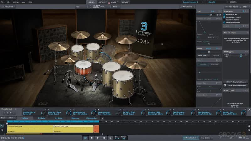Groove3 Superior Drummer 3 Tips and Tricks Vol 3