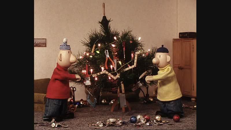 Пат и Мат Рождественская елка 2004 Чехия мультфильм