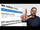 Lula faz STF puxar tapete de Moro