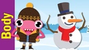 Let's Make a Snowman   Winter Song for Kids   Fun Kids English