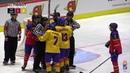 2019 IIHF | World Championship | U20 | Division II Group A | Roumania vs. Espania | 2nd period