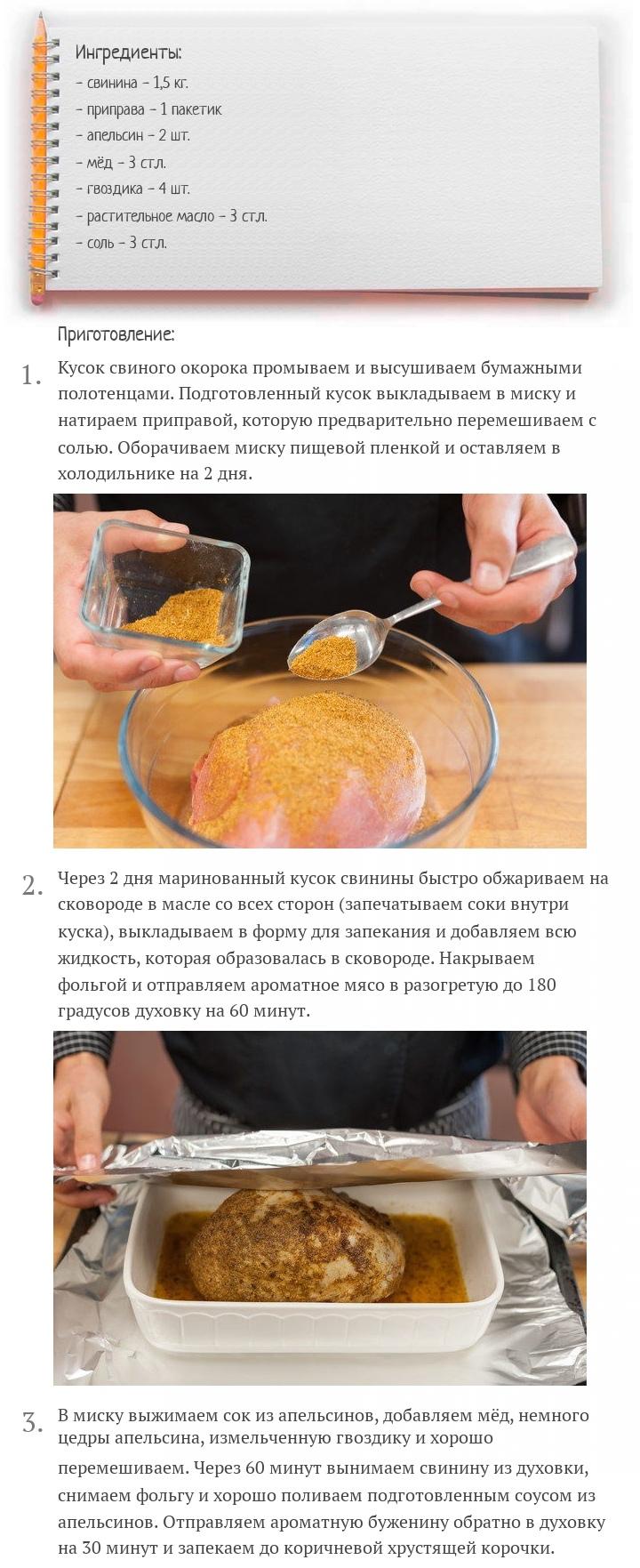 Идеальная буженина в духовке, изображение №2