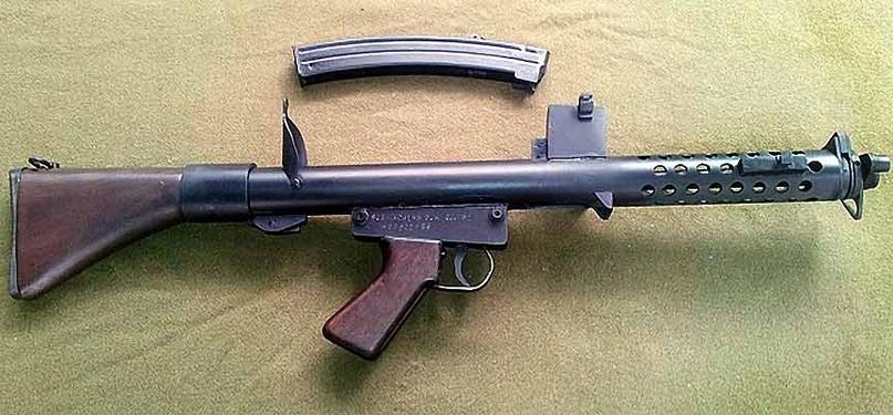Пистолет-пулемет SAF F1 1962 г., изображение №2