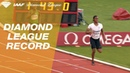 Caster Semenya 1 54 25 4th Fastest ALL TIME Wins Women's 800m IAAF Diamond League Paris 2018