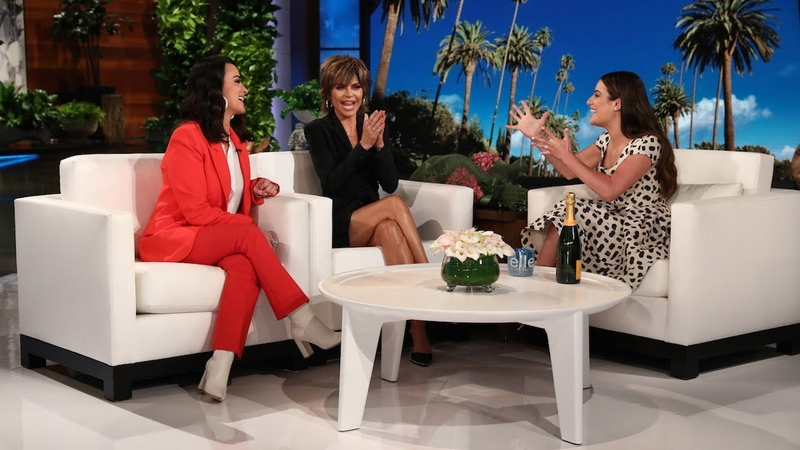 Lea Michele Gets a 'Real Housewives of Beverly Hills' Birthday Surprise