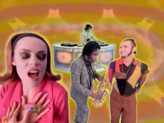 Deee-lite - groove is in the heart (video version) 1990 год.