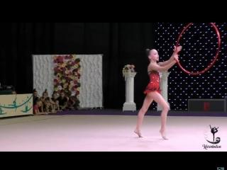 Анастасия Валентирова Обруч 2003 - Звездочка Таврии 2018