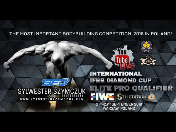 IFBB Diamond Cup Warsaw FIWE 2018 day 2