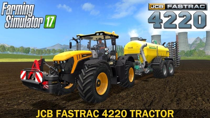 Farming Simulator 17 JCB 4220 TRACTOR