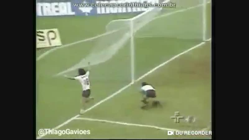 Há 34 Anos o @Corinthians vencia a @Lusa_Oficial por 2x0 no Pacaembu