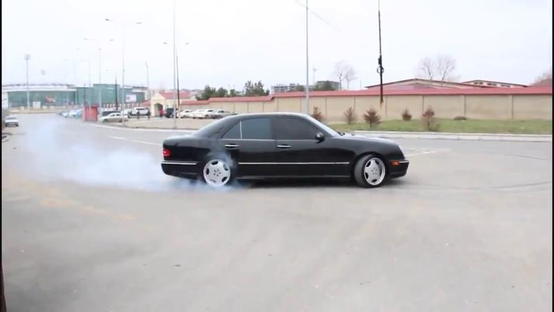 Mercedes Benz E 5 5 AMG vs Е 6 3Brabus