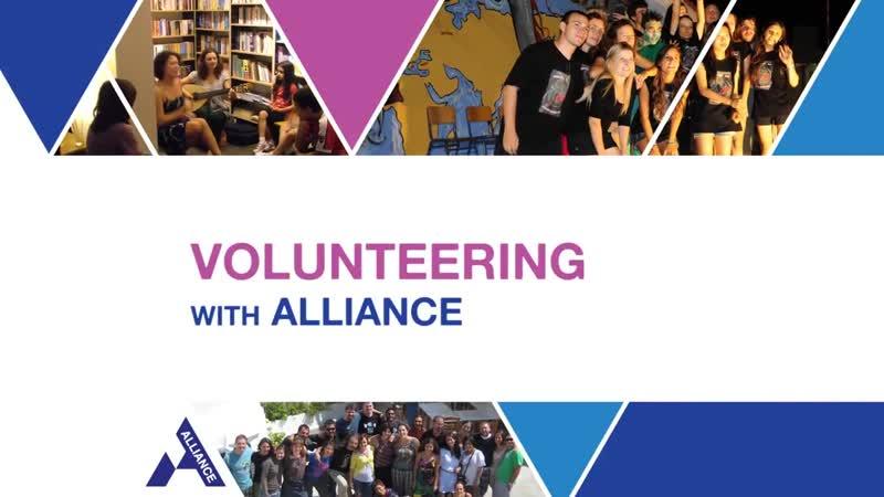 Volunteering with Alliance