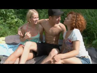 Bgg boy fuck two girl in forest (porno,group,sex,tits,teen,full,pussy,threesome,cumshot,xxx,public,dick,cock)