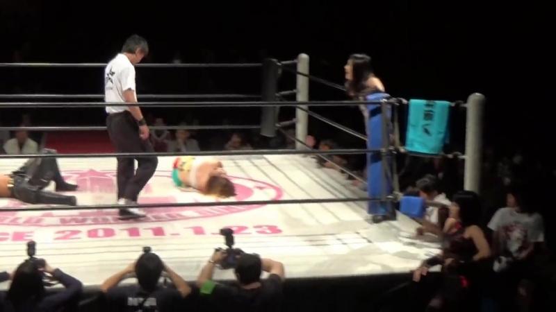 3. Hana Kimura, Kagetsu, Kris Wolf Natsu Sumire vs. Hiromi Mimura, Jungle Kyona, Konami Mari Apache