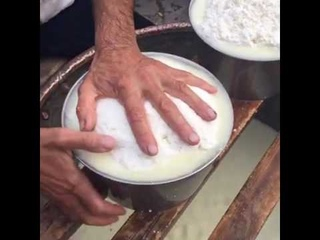Ovodda. La lavorazione tradizionale del formaggio