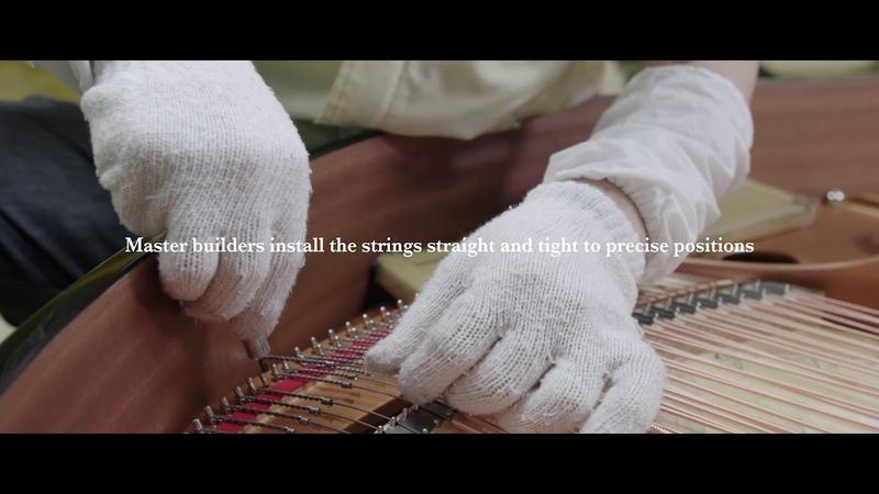 Yamaha Kakegawa Factory 2: Frame and String Installation