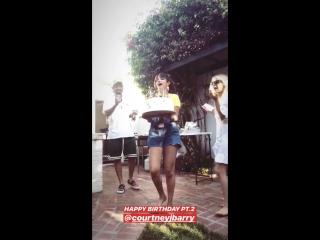 Selena gomez in hana huss's instagram stories