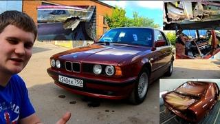 Проект восстановления BMW E34 ! КУЗОВ, МОТОР, АКПП