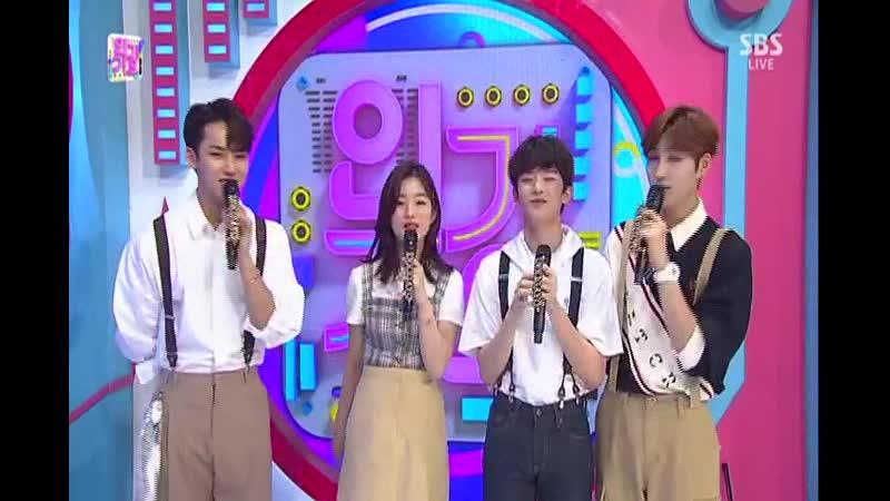 SBS 인기가요 1007회 (일) 2019-06-23 오후3시50분