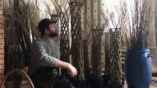 Плетёное дерево / Ивовая пальма - эксклюзив на дачу