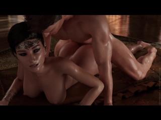 крутой порно мульт с сюжетом Bloodlust Cerene часть 1