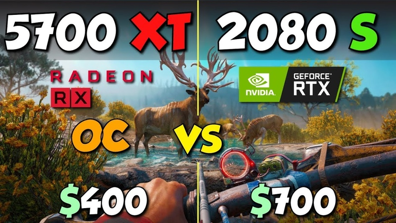 RX 5700 XT OC vs. RTX 2080 Super