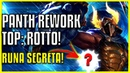 [ITA] PANTHEON REWORK TOP GAMEPLAY SUL PBE! - PANTHEON REWORK GUIDE ITA - REWORKED PANTH TOP PTA