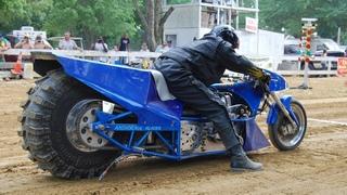 100 км/ч за 1 секунду - Top Fuel Motorcycle Dirt Drag Racing