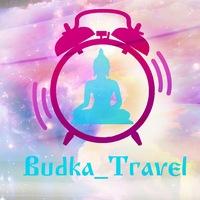 Логотип BUDKA_Travel l Siberia l Байкал l Красноярск