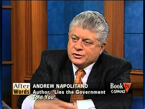 After Words with Andrew Napolitano C-SPAN - Ralph Nader (FULL)