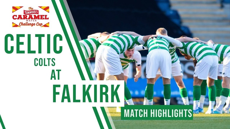 🍀 Highlights Celtic Colts Challenge Cup Second Round vs Falkirk