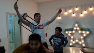 Манекен-челендж на Дне Рождении  Егора в Сезам