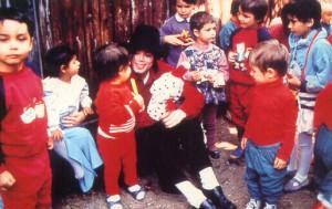 Своей самой важной миссией Майкл всегда считал помощь детям