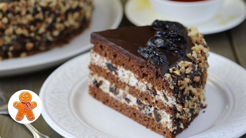 Торт Чернослив в Шоколаде ✧ Chocolate Prunes Cake (English Subtitles)