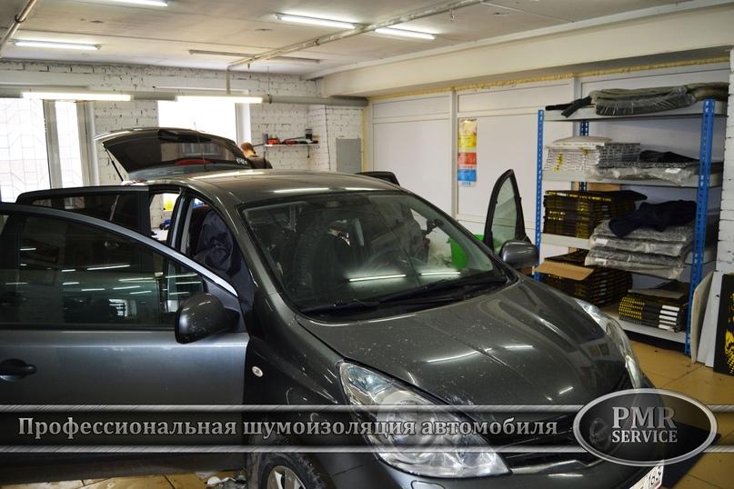 Шумоизоляция Nissan Note, изображение №2