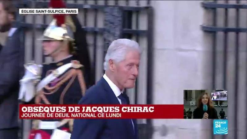 Obsèques de Jacques Chirac arrivée de nombreuses personnalités à l'église Saint Sulpice
