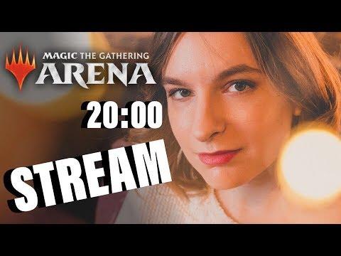 Анастасия и ее Дрессированый Бобер играют в MTG Arena magic the gathering girl's play