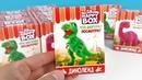 ДИНОЛЕНД Happy Box! ДИНОЗАВРЫ Сюрпризы ИГРУШКИ Сладкая сказка Jurassic World Toys Surprise unboxing