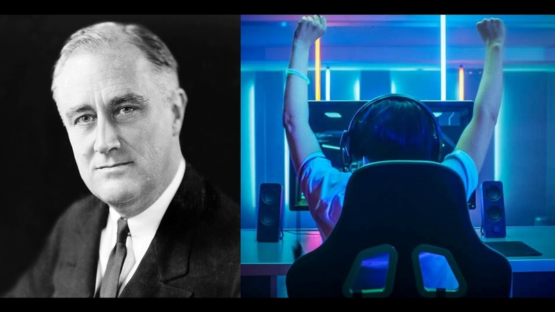FDR reads the They Targeted Gamers Copypasta (Speech Synthesis)