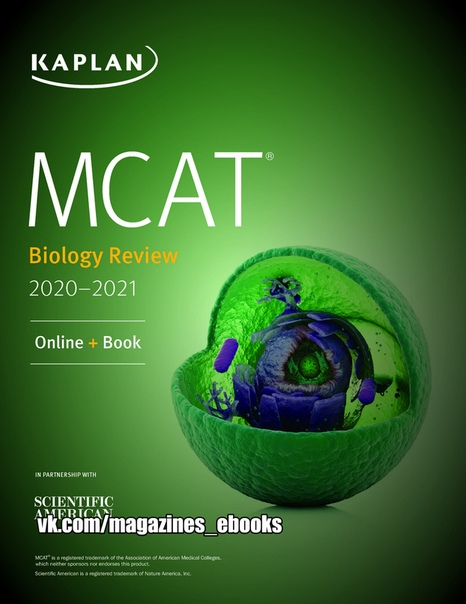 MCAT Biology Review 2020-2021 - Kaplan Test Prep