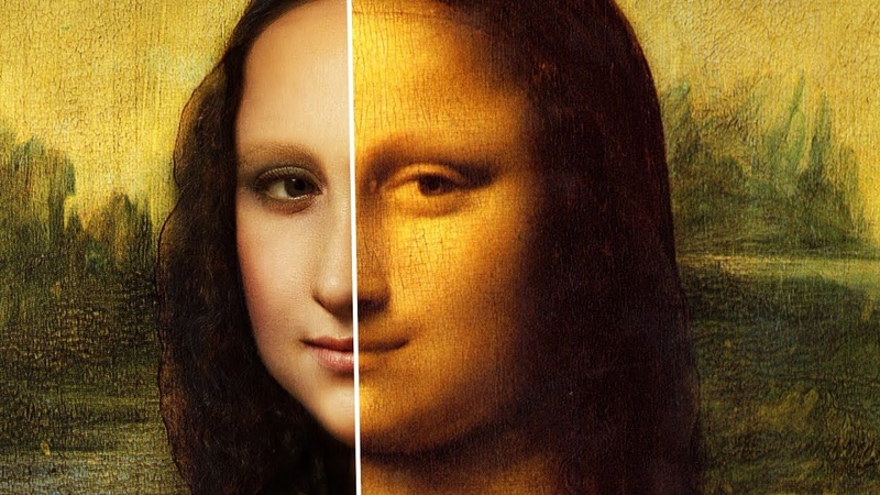 How MONA LISA looked in REAL LIFE