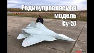 Gigantic rc-model of Sukhoi Su-57