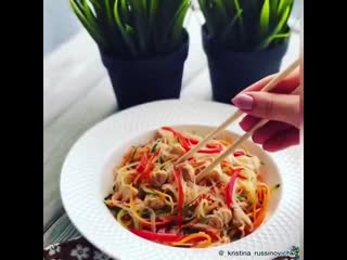 zerofat - салат из фунчозы