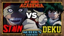 What's in a Fight My Hero Academia Stain vs Deku Iida Todoroki