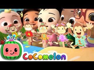 Five little monkeys Song - CoCoMelon Nursery Rhymes